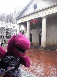 Outside of Quincy Market